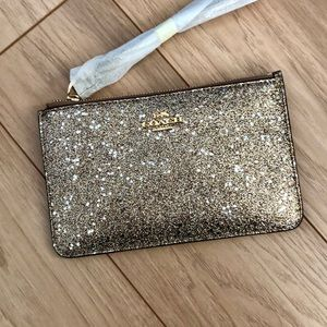 Coach Wristlet ✨ with Star Glitter ✨